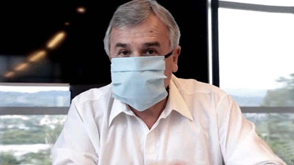 """El gobernador dijo que no hay que incentivar las protestas callejeras: """"No puedo oponerme en Jujuy y aplaudirlo en la Ciudad""""."""