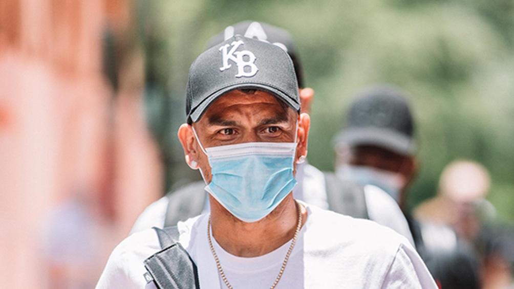 Bou, uno de los argentinos durante su estancia en la burbuja de Orlando