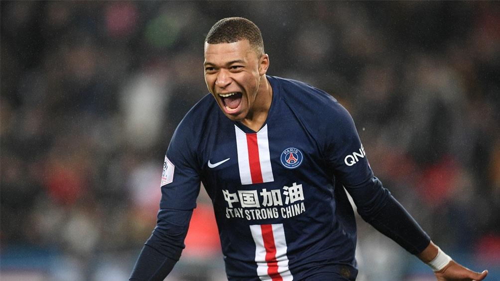Mbappé es figura en el PSG francés