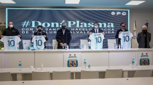 Gobernadores y la AFA firman un convenio para fomentar la donación de plasma