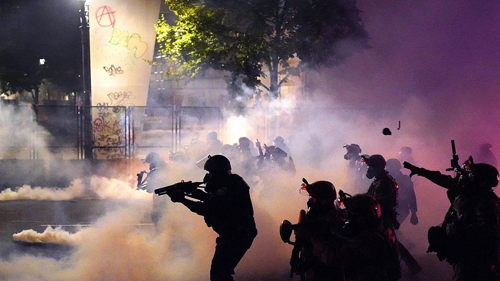 100 noches consecutivas de protestas y disturbios en Portland