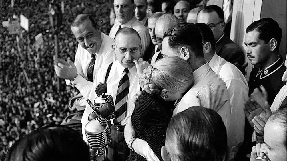 Fue propuesta por el Movimiento para conformar la fórmula presidencial junto a Juan Domingo Perón en 1951.