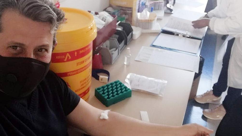 Pablo Andrés Berra se convirtió esta semana en el primer argentino en recibir la vacuna experimental que desarrolló la Universidad de Oxford.