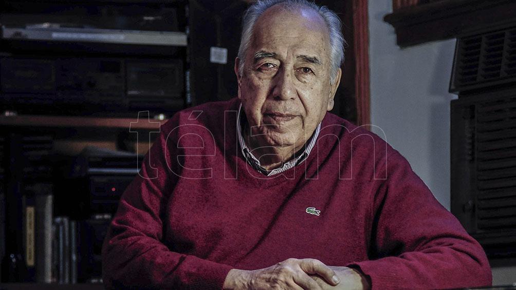 Manolo Juárez falleció hoy a los 83 años.