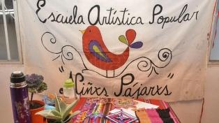 Seguir transformando desde la virtualidad: la Escuela Artística Popular Niños Pájaros