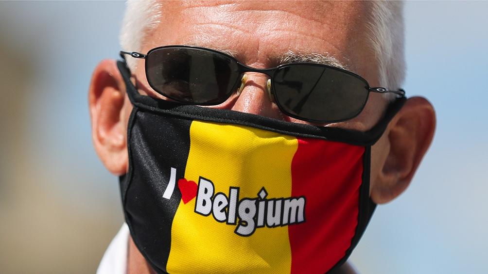 Bélgica registró el martes 347.289 casos