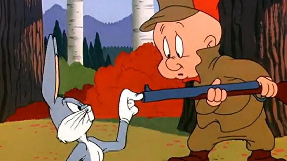 Bunny y Elmer Gruñón: una persecución que ya superó las oco décadas.
