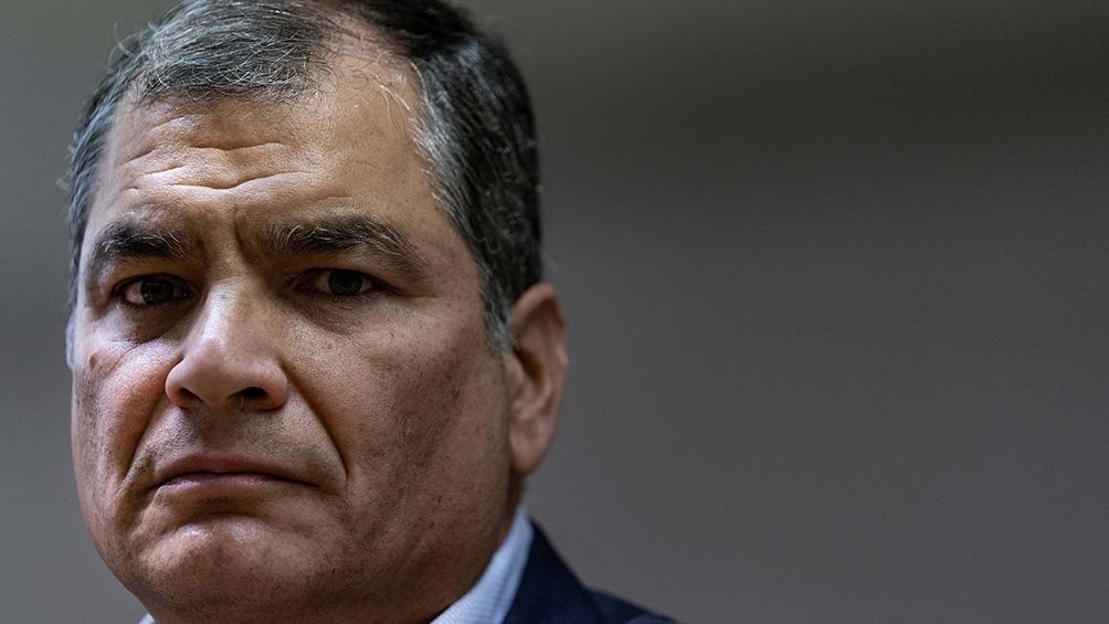 Correa agradeció su nominación a la vicepresidencia.
