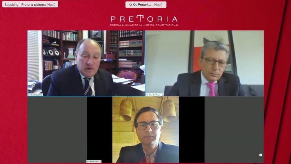 La presentación virtual de PretorIA.