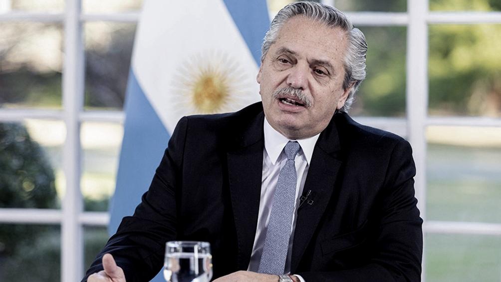 """El presidente Alberto Fernández sostuvo que el gobierno nacional seguirá trabajando en los próximos días para ver si se logra el """"acuerdo"""" con los acreedores externos."""