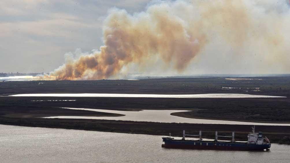 Se citó a declarar a dueños de terrenos donde ocurren incendios en la zona de islas del Delta del Paraná