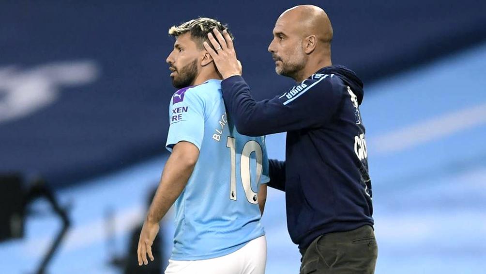 """Guardiola: """"En breve Agüero estará junto al resto del plantel""""."""