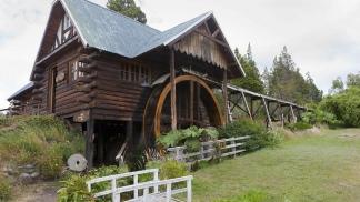 """El estilo de construcción """"galés"""" de la Patagonia, en Gales no es usual."""