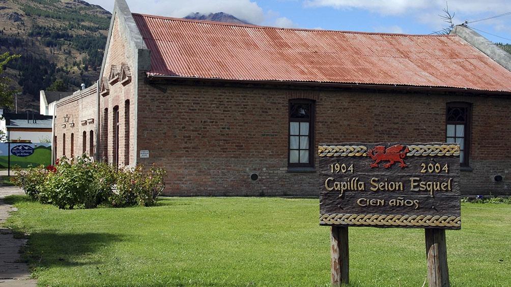 La capilla Seión se mantiene desde 1904 preservando el espíritu de sus primeros años.