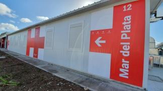 Hospital Modular de Emergencia montado por el gobierno nacional