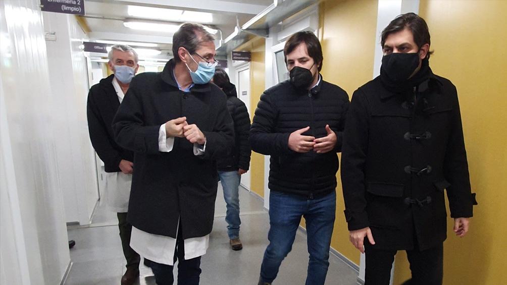 Nicolas Kreplak, Carlos Bianco y Guillermo Montenegro