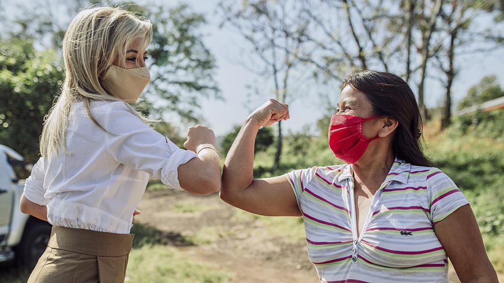 Fabiola Yáñez se suma a la campaña