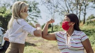 """Fabiola Yáñez se suma a la campaña """"Mujeres rurales, mujeres con derechos"""""""