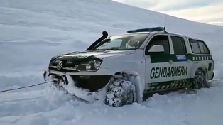 Chubut: suman 18 los pobladores que estaban aislados por la nieve y fueron rescatados