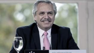 """Fernández: """"Para el año próximo se espera una economía pujante"""""""