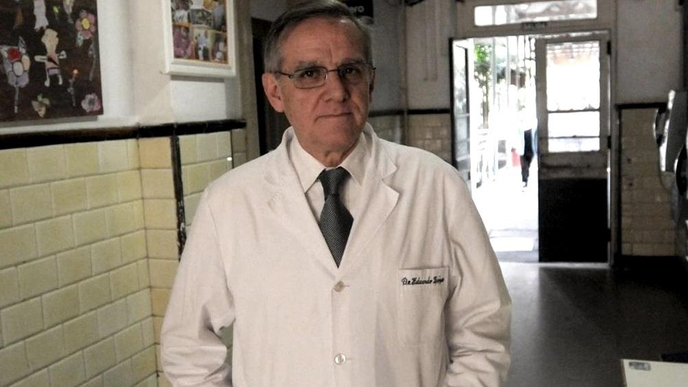 El médico Eduardo López contrajo coronavirus y dijo que no tuvo miedo por estar vacunado