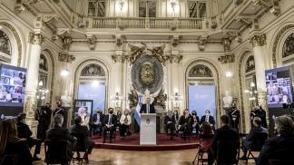 El Presidente presentó ayer el proyecto de Reforma Judicial