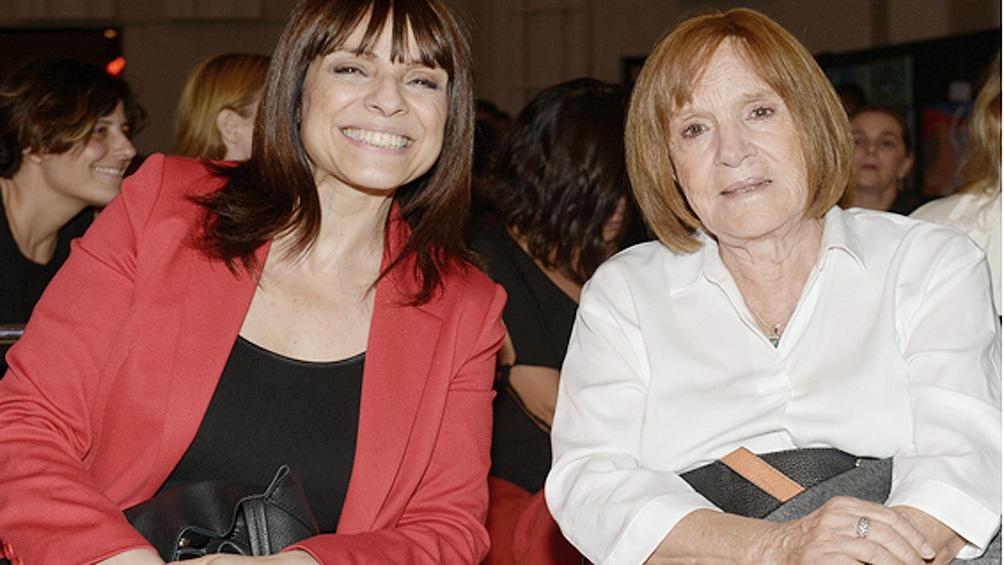 Rosario Lufrano y Susana Sanz