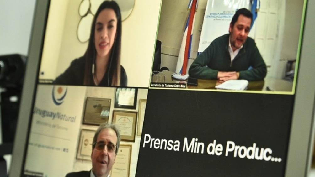 Participaron la secretaria de Turismo de la Nación; el subsecretario de Turismo de Uruguay  y el secretario de Turismo entrerriano