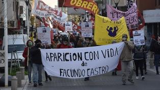 """Marchas por Facundo Astudillo Castro y contra el """"gatillo fácil"""""""