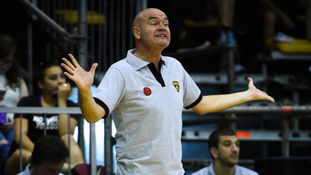 Martínez, dirigió en la última temporada a Obras Básket en la LNB (foto: LNB contenidos)