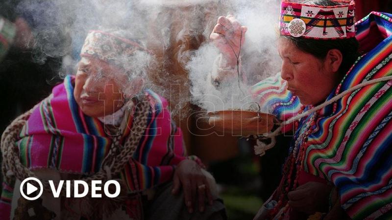 Por la pandemia, las provincias norteñas piden celebrar a la Pachamama en familia - Télam - Agencia Nacional de Noticias