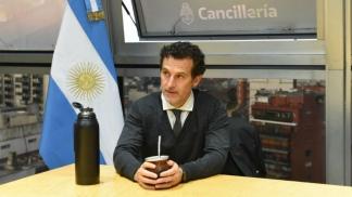 Guillermo Justo Chaves,  jefe de Gabinete de la Cancillería