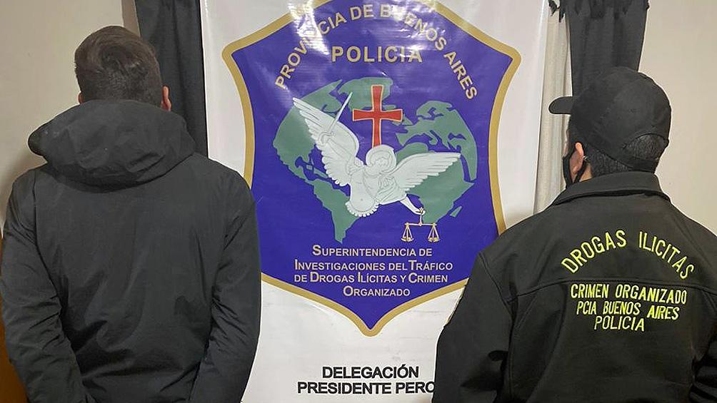 El joven de 29 años detenido en Glew tenía antecedentes penales por distintos delitos