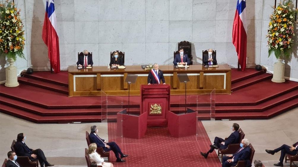 El mandatario compareció para dar cuenta del estado del país durante una hora y media ante el Congreso Nacional.