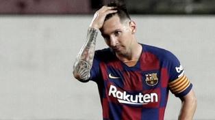 Messi, quinto en la tabla del Botin de Oro, que ganó Immobile