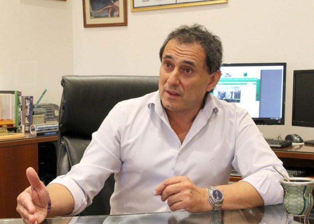Sergio Sasia sec. gral. de la Unión Ferroviaria