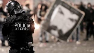 DDHH le pide explicaciones a la Ciudad por la actuación policial en la marcha por Maldonado
