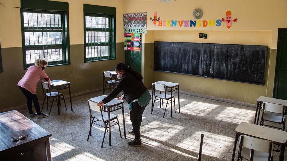 El Gobierno nacional suspendió temporalmente las clases