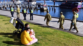 Australia no registra muertes por coronavirus por primera vez en dos meses