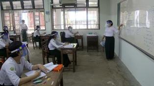 """La ONU pide priorizar el regreso a las aulas y alerta sobre el riesgo de una """"catástrofe generacional"""""""