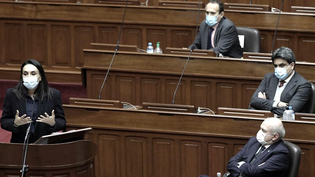 Cateriano perdió la votación clave a menos de tres semanas de asumir el cargo.
