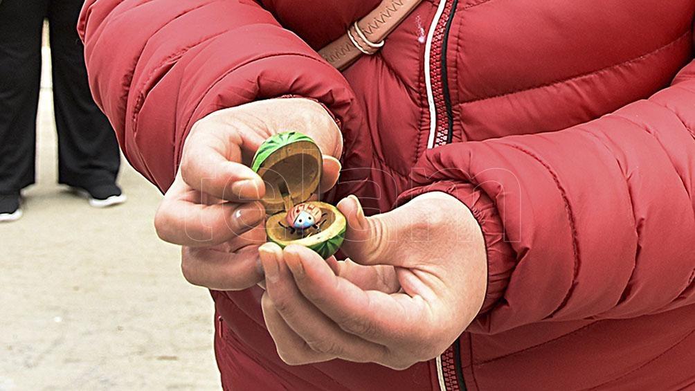 Durante un procedimiento efectuado en el destacamento de Teniente Origone se encontró un amuleto de Facundo.