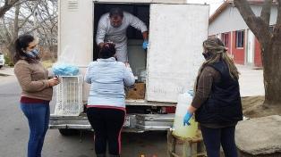 Un carnicero ya donó cuatro toneladas de mercadería en San Rafael por la pandemia