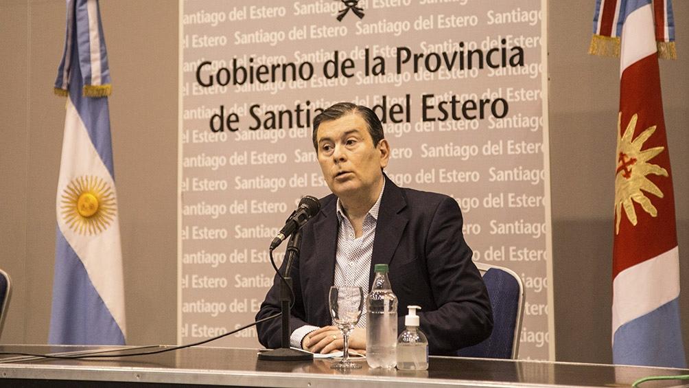 """El gobernador Zamora tomó como ejemplo el caso de Ávila para pedirle a los ciudadanos que """"sean responsables""""."""