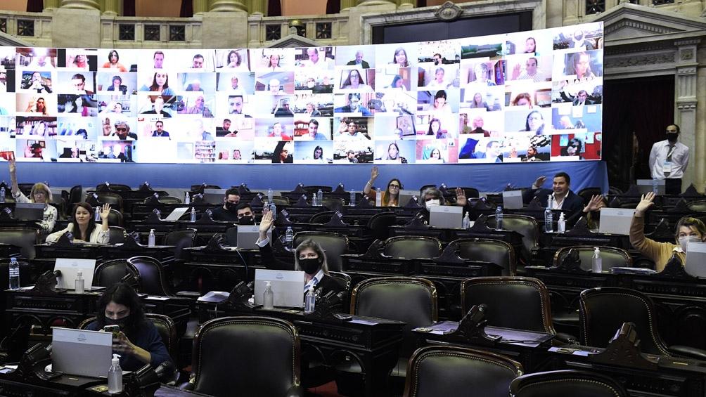 La ampliación presupuestaria aún debe ser tratada por la Cámara alta.
