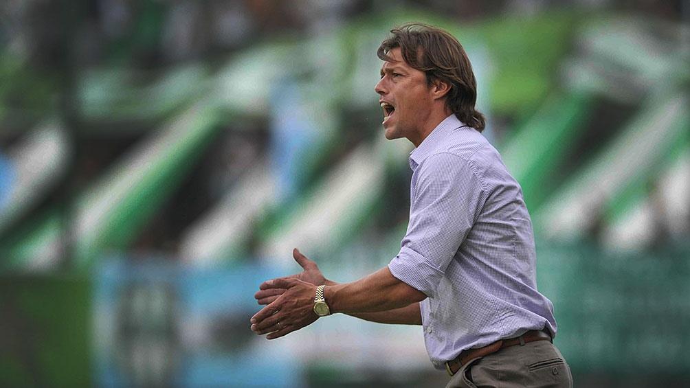 """Como DT de River, el """"Pelado"""" Almeyda logró el ascenso a Primera División a mediados de 2012, tras jugar un año en la B Nacional."""