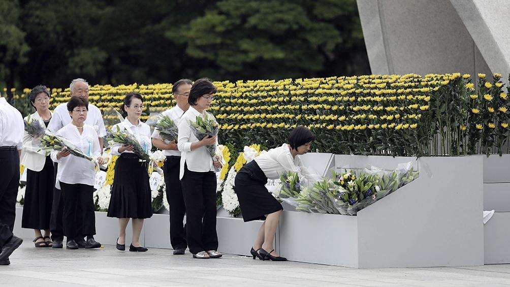 El primer artefacto se lanzó el 6 de agosto sobre la ciudad japonesa de Hiroshima