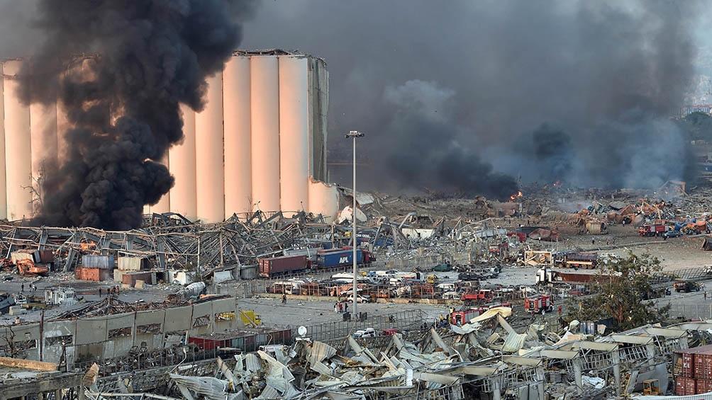 Los hospitales de la capital libanesa quedaron colapsados en las horas inmediatamente posteriores a la tragedia.