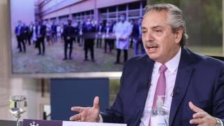 El Presidente encabezó la inauguración desde Olivos, a través de videoconferencia.