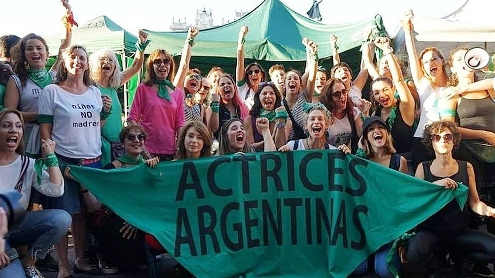 Actrices Argentinas reclamó que se trate el proyecto de aborto legal este  año - Télam - Agencia Nacional de Noticias